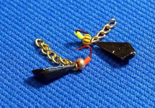 Мормышка «Кандалы» с цепочкой