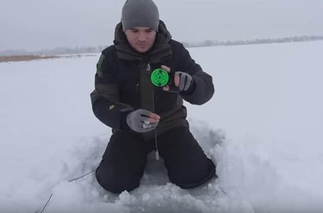 Самоделка для зимней рыбалки - глубиномер