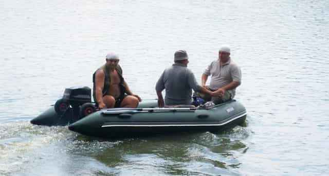 Размер лодки для двоих рыбаков