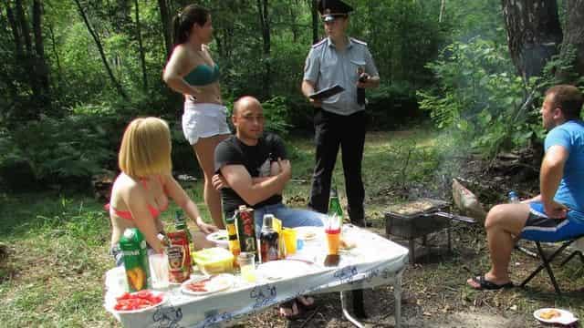 Штраф за шашлык у реки, на даче и в лесу