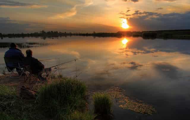 Случай на ночной рыбалке - рыбацкая история