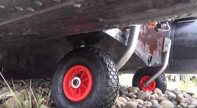 Транцевые колеса для лодки
