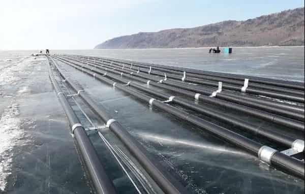 На Байкале китайцы строят завод по розливу воды из недр озера