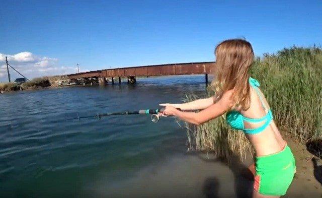 Рыбацкая история про женскую рыбалку