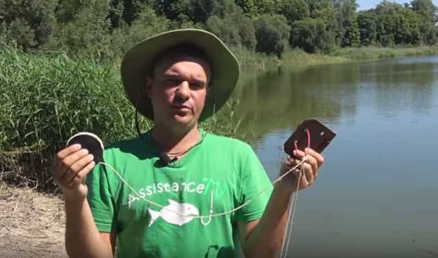 """Самоделка для рыбалки - снасть """"Резинка"""""""