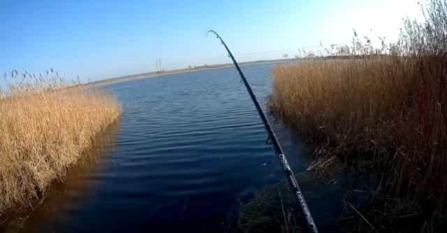 Уловистое место для весенней рыбалки