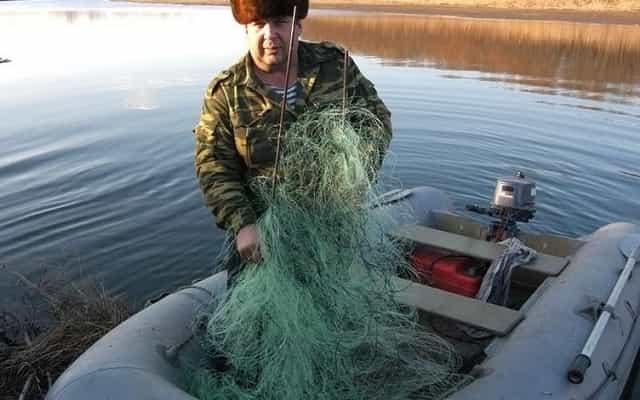 Браконьерские орудия лова рыбы