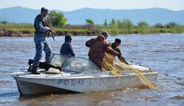 Браконьеры на рыбалке