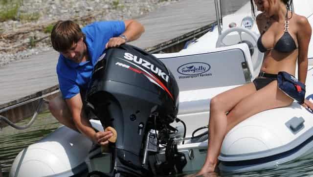 Лодка с мотором 200 кг