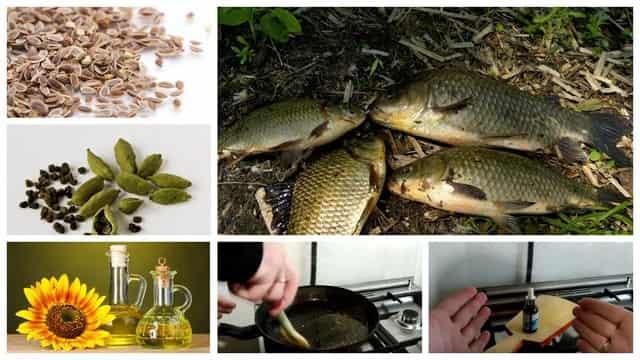 Масло ароматизатор для рыбалки самому