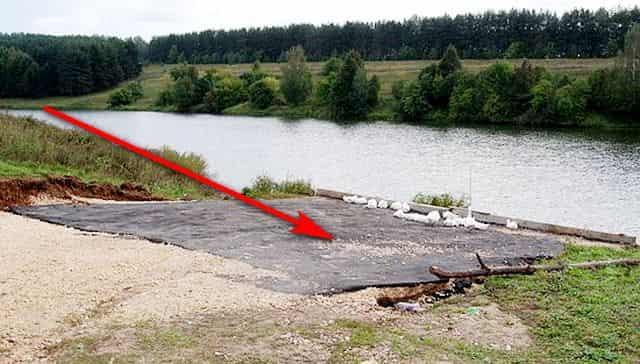 Твердое покрытие в водоохранной зоне по статье 65 ВК РФ относится к специально оборудованным местам или к дорогам