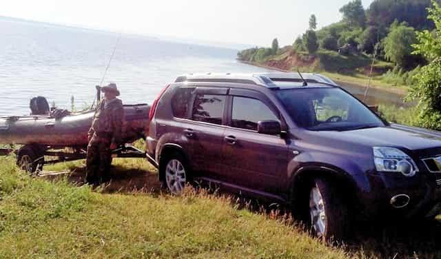 Инспектор Рыбоохраны сказал, как и где можно пользоваться машиной на берегу реки в ВОЗ