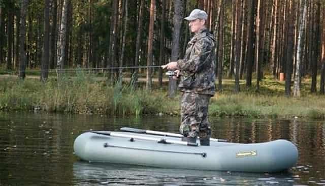 Лодка ПВХ для рыбалки - лёгкая и бюджетная