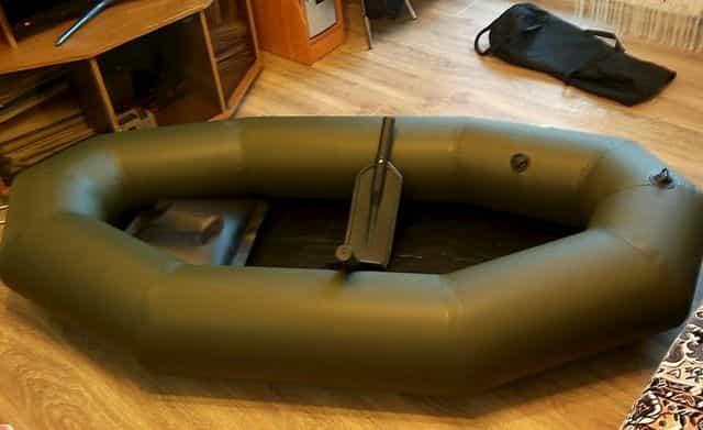Самая лёгкая лодка ПВХ для рыбалки - ЛАС-1