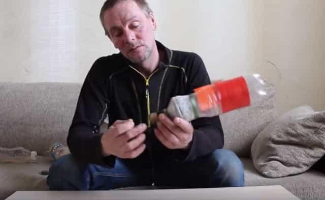 Монтаж снасти бутылка с сигнализатором поклёвки на щуку