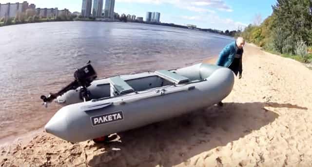 Транцевые колёса для лодки - удобно и надёжно