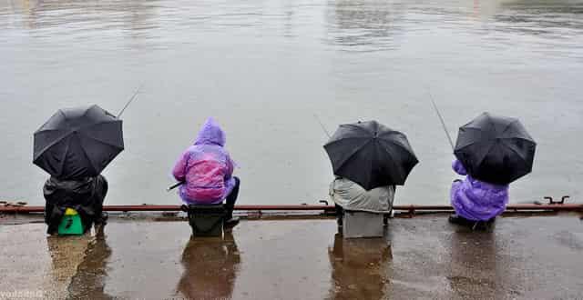 Чем укрыться и защититься на рыбалке во время непогоды и дождя