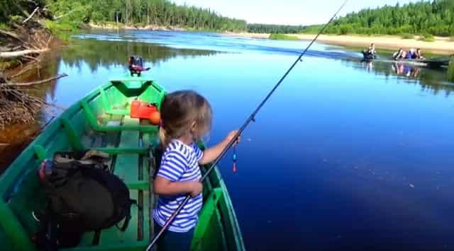 Детская рыбалка - выбираем удочку для ребенка