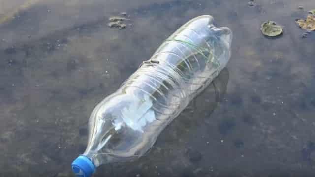 Самоделка для рыбалки №3 - Ловля крупной рыбы типа щуки на пластиковую бутылку-закидушку