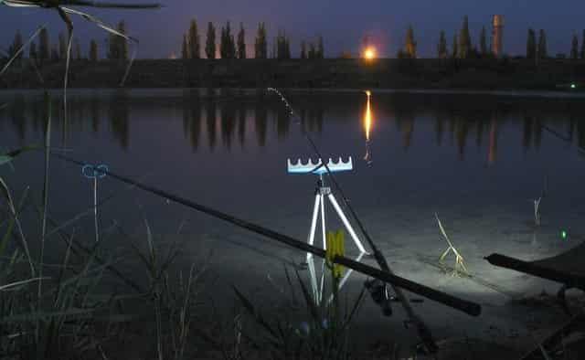 Случай на ночной рыбалке