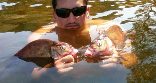 Где искать рыбу в жаркие дни