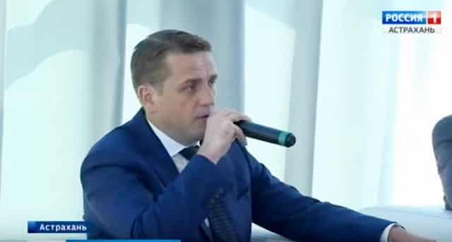 Начальник Росрыболовства Илья Шестаков в Астрахани