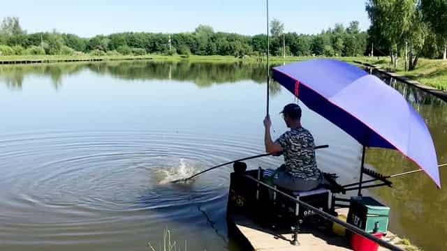 Рыбалка в жару, в жаркую погоду