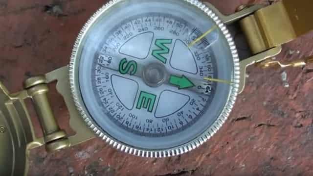 Нужна одна лишь цифра на компасе чтобы не заблудиться в лесу