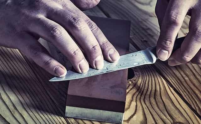 Заточка и правка любого ножа острее бритвы в домашних условиях