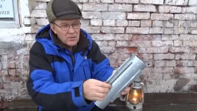 Насадка обогреватель на керосиновую лампу
