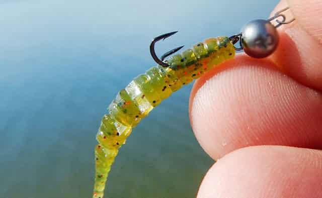 Пластиковые мягкие черви