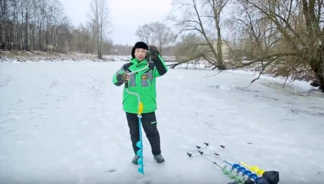 Ледобур для зимней рыбалки - какой лучше
