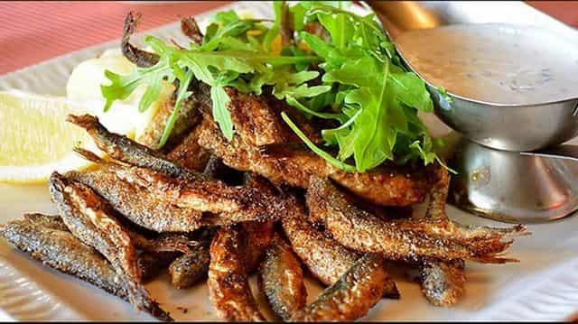 Рыбка ряпушка - самая вкусная жареная рыбёшка