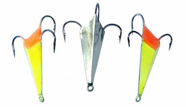 Настоящая уловистая блесна для зимней рыбалки - такую нигде не купишь
