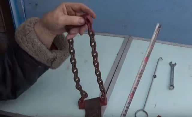 Браслеты с цепью для колёс авто своими руками