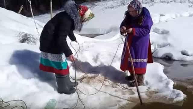 """Один день из жизни женщин загадочных народов """"манси"""" и """"ханты"""""""