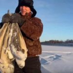 Как отлично ловить речную треску по-якутски - зимняя снасть на налима