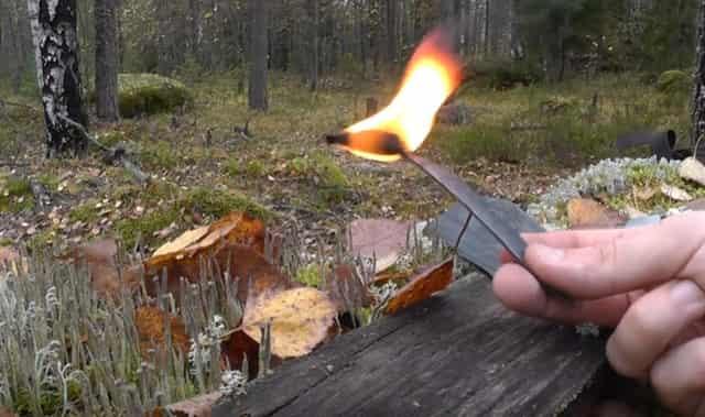 Резина для розжига