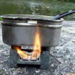 Самодельная карманная туристическая печка, которой пользовались ещё во время войны