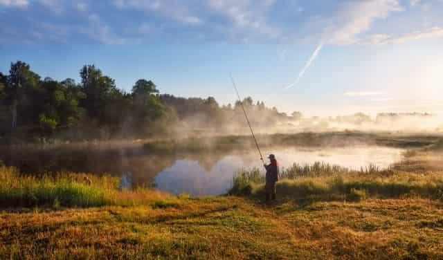 Рыбалка в запрет - коронавирус